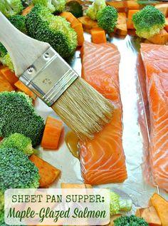 Sheet Pan Salmon TEXT