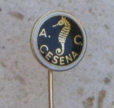 AC CESENA - soccer club Italy enamel pin football badge calcio distintivo Italia