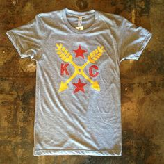 KC Chiefs themed t-shirt that you can buy in downtown KC. I want one these so bad!