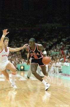 Michael Jordan at the Los Angeles 1984 Olympic Games  a9ac57206a