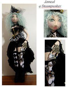 Free Cloth Doll Pattern - Project - Elfin