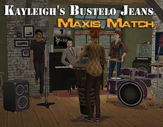 These are 7 tucked and untucked maxis match retextures of Kayleigh's fantastic Bustelo jeans from her advent gift at GOS for adult and teen males and females.  These were requested by obliviouspoo  and sixamsims and I had a lot of fun making them. Anyways, I had fun taking…