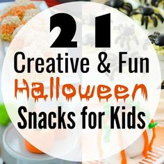 21 Fun Halloween Snacks for Kids!