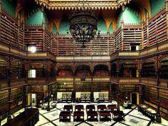 Biblioteca Real, Gabinete de Leitura, Rio De Janeiro, Brasil