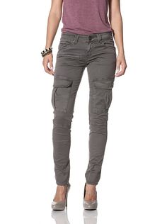 """Jimmy Taverniti Women's Cargo Pant"" I've always wanted some of these..."