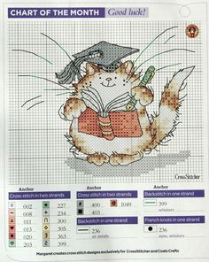 Good Luck! by Margaret Sherry CrossStitcher Issue 239 Hard Copy