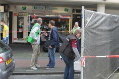 Overval juwelier Jan Evertsenstraat in Amsterdam-West op 31 mei 2014. Copyright Misdaadnieuws.COM