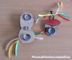 Instrumentos musicales para hacer con los niños
