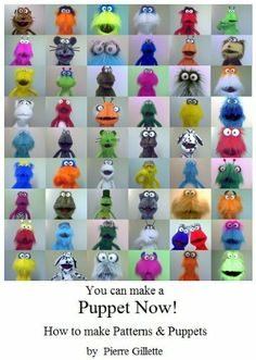 You can make a Puppet Now! How to make Patterns and Puppets by Pierre Gillette, http://www.amazon.com/dp/B00C1193OK/ref=cm_sw_r_pi_dp_D9fjtb0P0PYJV