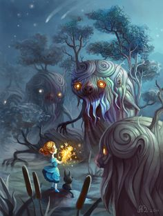 Tree monster things