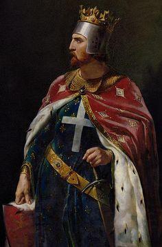 Richard I The Lionheart Print By Merry Joseph Blondel