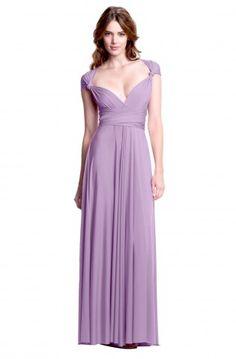 Sakura Lavender Purple Maxi Convertible Dress - Maxi Dress - Convertible Dresses - Shop