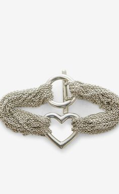 TIFFANY & CO. Silver Bracelet @Pascale Lemay Lemay Lemay De Groof