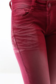 CHD-las03ls003a pants skinny jeans with light front and back fade by Chloe Deschanel (Women Chloe Deschanel)