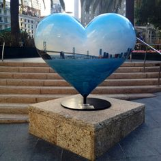 The many hearts of SF, Union Square. San Francisco.