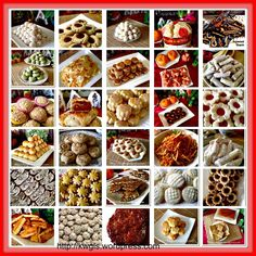 Special compilation of Chinese New Year Snacks, cakes and cookies recipes #kenneth_goh  #guaishushu