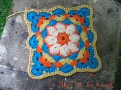 african flower in progress square 2 | Flickr - Photo Sharing!