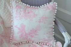 Baby Nursery Decor Chenille pillow Nursery Bedding by LyLyRosee, $22.00