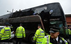 West Ham promise life bans for supporters who attacked Manchester United team coach on arrival at Upton Park