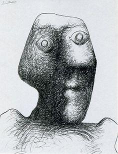ULTIMO  AUTORITRATTO A 91 ANNI Picasso