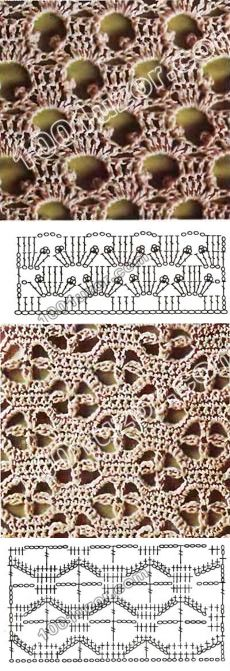 Knitting by a hook fillet lace - record of the user of Kozlovsckaja2009 (Lyudmila (I ask on first-name terms)) in the community Knitting a hook in category Knitted a hook accessories