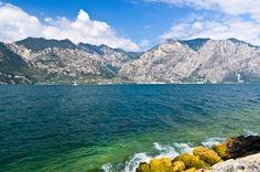 #Bardolino #lake #Italy #Garda #summer #travel #Italy #mountains #sky