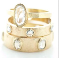 layers of gold/jewels