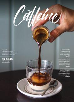 Food Graphic Design, Food Poster Design, Menu Design, Graphic Design Posters, Coffee Photography, Food Photography, Food Magazine Layout, Coffee Magazine, Mises En Page Design Graphique