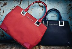 Handbags featuring impeccable class and elegance! Shop now Armani Jeans bags for her