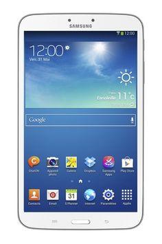 "Tablette tactile Samsung GALAXY TAB 3 BLANC 8"" (3777162)"