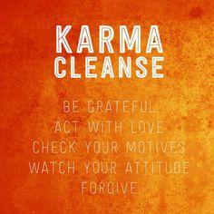 Spiritual Awakening: Karma Cleanse Jumpstarting 2014 | Spiritual Awakening