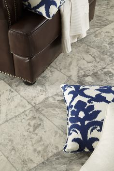 Get the look of real marble designs for a fraction of the cost with IVC US fiberglass sheet vinyl! Check it out here:  http://www.ivcfloors.com/Sheet-Vinyl-Tile-Product-Page.aspx?p=1200&o=Manhattan