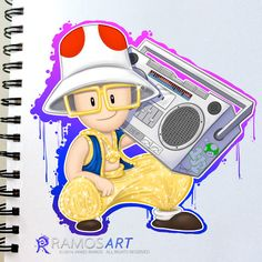 MC Toad Because I love the 80s, hiphop, breaking, videogames and oldschool…