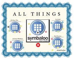 Thanks to @msEdtechie a.k.a. Patricia Brown for this great ThingLink of All Things Symbaloo!