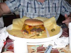 Chris Madrid's Nachos and Burgers: Flaming Macho Burger Chris Madrid's San Antonio