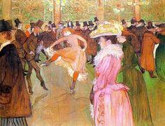 Henri Marie Raymond de Toulouse Lautrec-Monfa, né le 24/11/1864 à Albi et mort le 9/09/1901 au château Malromé, est un peintre et lithographe français de la fin du XIXe siècle