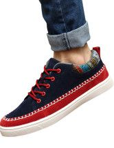 Chic PU Leather Men's Casual Shoes
