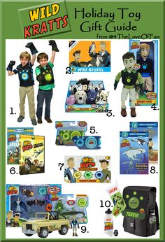 Wild Kratts Complete Holiday Toy Gift Guide #WildKratts #KrattBrothers