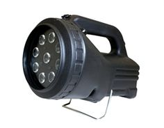 Nightsearcher Panther LED Rechargeable Searchlight. The Panther LED Searchlights, is the latest edition to the Panther range. This version uses 9 CREE® XP-C LEDs, producing an impressive 1,500 lumens, with a beam distance of 750 metres.  It has 4 light modes; High, low, flashing and strobe function which can be used for alerting attention or disorientating an intruder. #Torches, #Flashlights, #Torch, #Searchlight