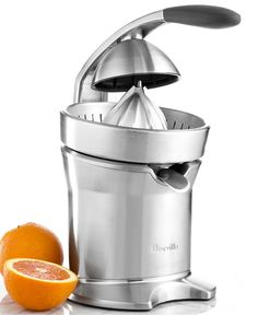 Breville motorized citrus press juicer —something to help ensure your homemade cocktails are as fresh as can be, right down to the last drop!