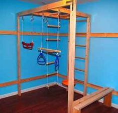 Home Gym Basement Boy Rooms 58 Super Ideas Indoor Jungle Gym, Kids Indoor Play, Indoor Gym, Home Gym Basement, At Home Gym, Basement Ideas, Sensory Rooms, Autism Sensory, Sensory Activities