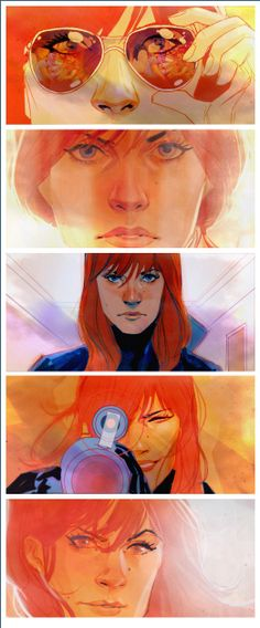 Black Widow - Phil Noto, my all-time favorite comic book artist!