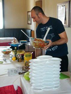 L'Insalata di pollo e avocado con composta di agrumi è pronta…!