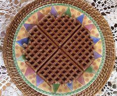 Kathryn's Low Carb Kitchen: ~ Sunshine Chia Waffles
