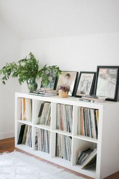 75 Cool IKEA Kallax Shelf Hacks For Every Space 75 Cool IKEA Kallax Shelf Hacks For Every SpaceIKEA Kallax and are the best canvas for creating! Kallax shelves are so universal that you Ikea Regal, Ikea Kallax Regal, Ikea Kallax White, Ikea Hacks, Etagere Kallax Ikea, Apartment Hacks, Shelves In Bedroom, Bedroom Storage, Cube Storage