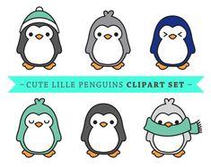 Prime vecteur Penguin clipart clipart par LookLookPrettyPaper