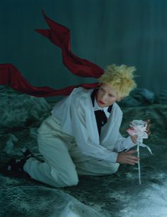 W Magazine December 2015 Model: Cate Blanchett Photographer: Tim Walker Fashion Editor: Jacob K Hair: Julien D'ys Make-up: Val Garland
