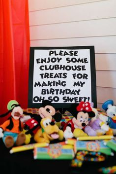 Mickey Mouse Birthday Party Ideas - My WordPress Website Mickey Mouse First Birthday, Mickey Mouse Clubhouse Birthday Party, Mickey Mouse Parties, Mickey Party, 3rd Birthday Parties, Boy Birthday, Birthday Ideas, Disney Parties, Disney Clubhouse