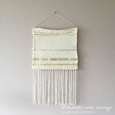 Weaving Art, Loom Weaving, Interesting Blogs, Weave, Loom Knitting, Weaving, Loom