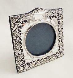 Antique Edwardian Sterling Silver Photo Frame 1906